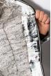 Куртка женская 121P025 бело-оливковый