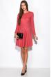 Платье 120P487 бордовый