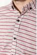 Рубашка 111P037 бордовый