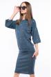 Костюм (юбка, блуза) женский 110P041 темно-зеленый