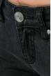 Джинсы женские темные 08P120 грифельный
