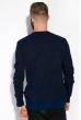 Джемпер мелкой вязки  520F012 синий / темно-синий