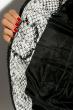 Куртка женская 120PLI9029 змеиный принт серый