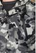Парка мужская в стиле милитари 180V001 серо-песочный