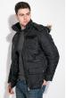 Куртка мужская удлиненная 181V001 черный