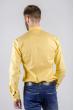 Рубашка мужская стильная 222F081 желтый