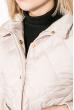 Куртка женская, удлиненная, стеганая  80PD1221 кремовый