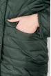 Куртка женская, удлиненная, стеганая  80PD1221 бутылочный