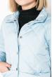 Куртка женская, удлиненная, стеганая  80PD1221 голубой