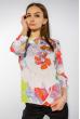 Блузка цветочный принт 118P340 цветной принт