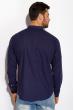 Рубашка 511F050 темно-синий
