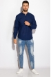 Рубашка 511F050 синий