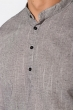 Рубашка 511F050 темно-серый