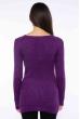 Свитер женский приталенный  610F008 фиолетовый