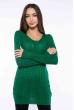 Свитер женский приталенный  610F008 зеленый
