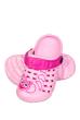 Кроксы 160P026 junior розовый