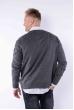 Пуловер 645F003 темно-серый