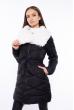 Куртка женская с шалевым воротником 120PSKL5266 черный