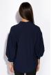 Блуза 120PN19011 темно-синий