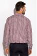 Рубашка 511F039 красно-черный