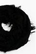 Вязаный женский шарф 120PROS005 черный