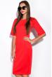 Платье 110P422-1 красный