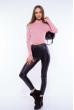 Гольф женский с открытыми плечами 605F003 розовый