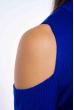 Гольф женский с открытыми плечами 605F003 электрик