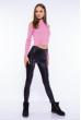 Гольф женский с открытыми плечами 605F003 темно-розовый