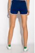 Шорты спортивные женские 317F043 с окантовкой синий