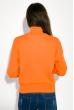 Гольф женский с надписью  32P038 оранжевый