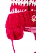 Шапка детская (для девочки) яркий дизайн 65PG0014 junior малиновый