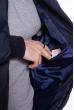 Куртка стеганая Black 162P034-1 темно-синий