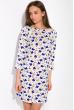Ночная женская сорочка 107P13 молочный принт