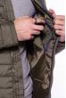 Куртка мужская с капюшоном 187P449 оливковый