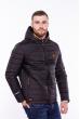 Куртка мужская с капюшоном 187P449 черный