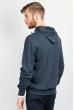 Батник мужской с капюшоном  185F145 темно-серый