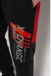 Брюки спортивные 621F008 черный