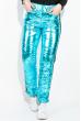 Костюм женский (Куртка, Штаны)  80PD1353 бирюза металик