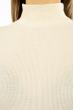 Гольф женский в стиле Casual 620F004 кремовый