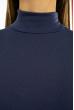 Гольф женский в стиле Casual 620F004 сизо-синий