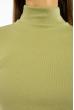 Гольф женский в стиле Casual 620F004 голубой