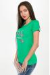 Футболка женская 211F046 зеленый