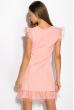 Платье 103P002 розовый
