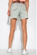 Джинсовые шорты в стиле Casual 162P033 светло-синий