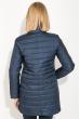 Куртка женская удлиненная 80PD1211 темно-синий