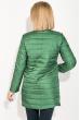 Куртка женская удлиненная 80PD1211 темно-зеленый