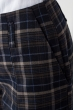 Шорты женские осенний тренд 64PD88 сине-бежевый