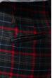 Шорты женские осенний тренд 64PD88 сине-красный