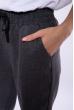 Брюки женские однотонные 153P6891 темно-серый меланж